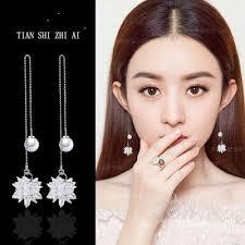 2019 <b>S925 Silver Needle</b> Hypoallergenic Retro Earrings Female ...