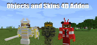 Browse skins as they look in the game, full support skins of any downloadable 4d skins for minecraft pe : Skins 4d And Armors 4d Addon 1 16 100 Minecraft Pe Mods Addons