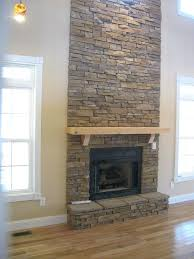 how to build a stone fireplace surround for the home stone veneer stacked stone fireplaces and