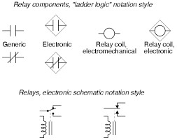 electrical drawing relay symbol the wiring diagram lessons in electric circuits volume v reference chapter 9 electrical