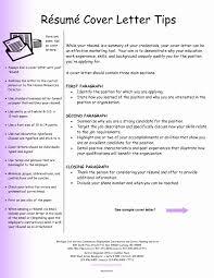 Resume Letter Sample Format Inspirational Resume Cover Letter