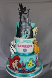 Disney Themed Birthday Cake Cakecentralcom