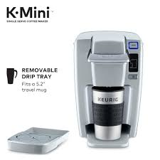 keurig k mini coffee maker single serve k cup pod k15 brewer black com