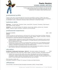 Video Game Design Job Description Programmer Resume Example Sample