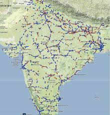 google maps in india using rail radar