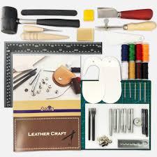 hit the leathercraft tool set beginner kit tool tool guide set hook selected carefully eight