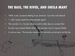 the bass the river and sheila mant essay personal essay writing sheila mant the bass the river