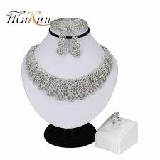 <b>MUKUN New Handmade Dubai</b> Silver Plated Jewelry Sets Fashion ...