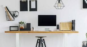 Office desk home work Minimalist Home Office For Work At Home Working Solutions Jobs How To Transform Small Area Into Your Workfromhome Space Work