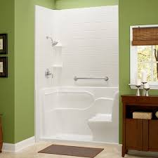 impressive walk in showers for seniors shower with seat and grab elegant design