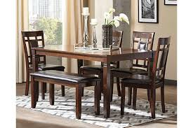 ashley dining room table set. dining room decor idea using this furniture ashley table set d