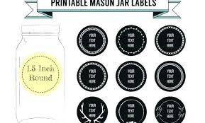 Avery Jar Labels Avery Mason Jar Labels Acehotels Co