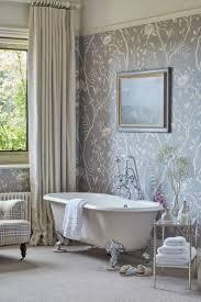 Small Picture The 25 best Bathroom wallpaper ideas on Pinterest Half bathroom