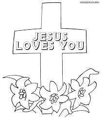 Small Picture Cross coloring pages Coloring pages to download and print