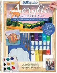 book cover page maker buy art maker art maker acrylics portrait kit at mighty ape