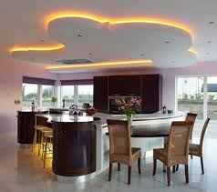 kitchen led lighting ideas.  led unique led lighting for modern kitchen decorating ideas with wooden chairs  and stylish cabinet inside led