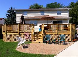 wood deck cost. Deck Cost - How Much Does A To Build NJ Wood