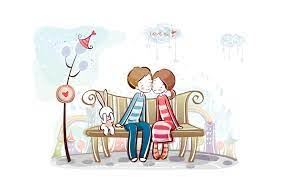 Free Cute Cartoon Couple, Download Free ...