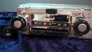 1968-1972 Chevrolet C10 Pickup truck original AM radio - YouTube