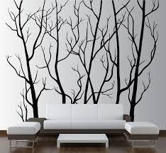 large wall vinyl tree forest decal