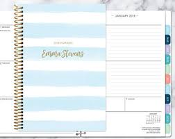 weekly student planners 2018 planner calendar choose start month add monthly tabs