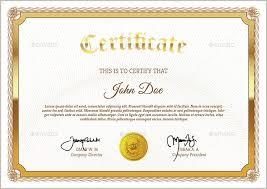 diploma template psd. 83 PSD Certificate Templates Free Premium Templates
