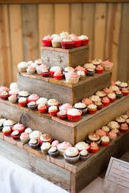 Charming Design Wedding Cake And Cupcake Stand Lofty Best 25 Wood