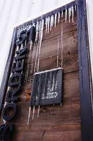 custom wood signs outdoor ice the sign depot