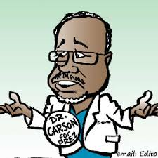 Image result for ben carson cartoon