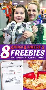 Chuck E Cheese Printable Chart 8 Things You Can Get Free At Chuck E Cheeses Pizza