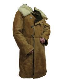 soviet sheepskin coat