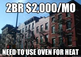 Overpriced New York Apartment memes | quickmeme via Relatably.com