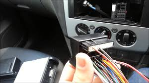 ford focus 2005 mark 2 radio removal installation
