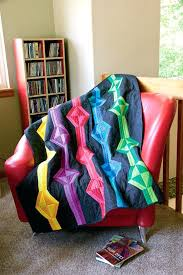 funky gems designed by angie hodapp made by zj humbach a fat quarter quiltchildrens living quarters