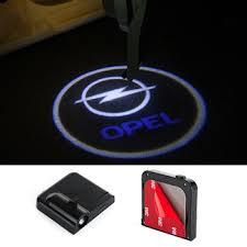 2X LED Projector Laser Logo Car Door Light For Opel Astra H G J ...