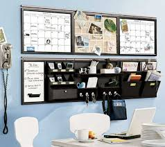 wall organizers for home office. Home Office Wall Organizer Ideas On Blue Paint Color Organizers For F