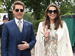 Tom Cruise and MI co star Hayley Atwell ...
