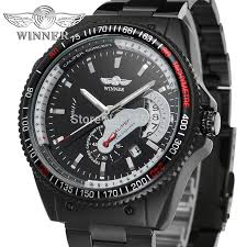online buy whole watch company men from watch company wrg8029m4b3 winner automatic good price men gift box watch stainless steel bracelet factory company