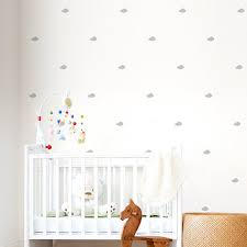 modern nursery wall decals mini clouds cloud decal tiny