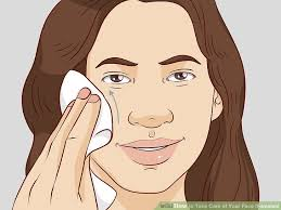 3 Ways To Take Care Of Your Face Females Wikihow