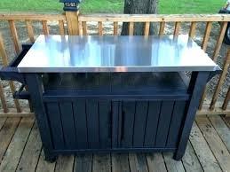 diy outdoor grill prep table outdoor kitchen prep table outdoor prep table food station plans the best and latest photo outdoor outdoor kitchen prep table