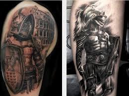 Gladiator Tattoo Bedeutung Tattoo Skizzen Und Fotos