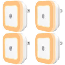 Dimmable Plug In Night Light Sycees Plug In Led Night Light With Dusk To Dawn Sensor For