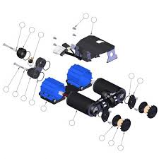 arb air compressor replacement parts poly performance Single Phase Compressor Wiring Diagram arb air compressor replacement parts