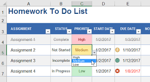 to do lists excel add cool features to your to do lists in excel