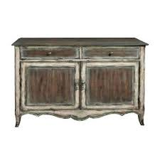 Storage Console Table Entryway Table With Storage Country Inspired Brown  Distressed 2 Door Accent Storage Console