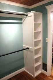 how to add extra closet space your storage ideas excellent idea attach rods two bookshelves