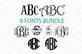 Create free svg monogram files with our app from a large selection of fonts and frames. Free Cricut Fonts Bundle Svg Not Typing Monogram Letters Svg Cricut Fonts Svg Cricut Svg Files Crafter File