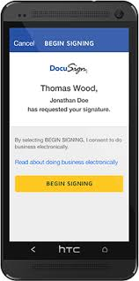 How To Do An Electronic Signature Free Electronic Signature App Docusign Mobile