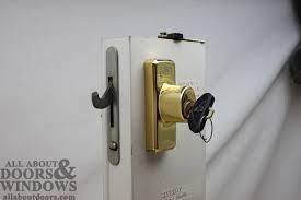 fabulous sliding patio door locks replacing a sheared